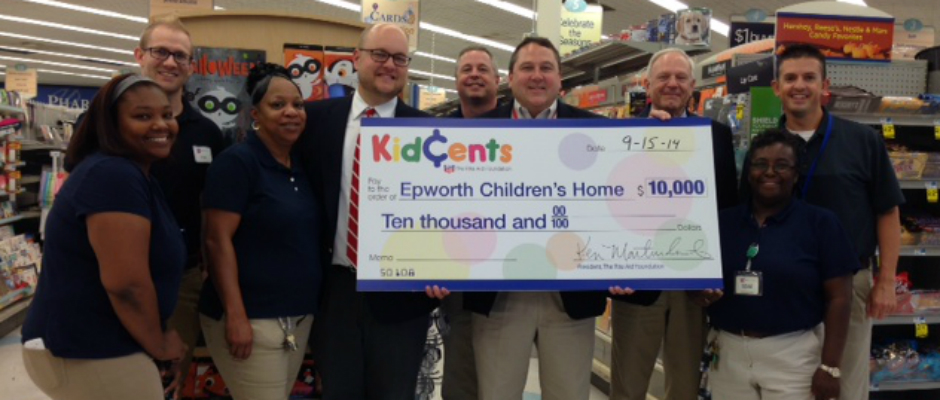 Epworth Selected for Rite Aid KidCents Program